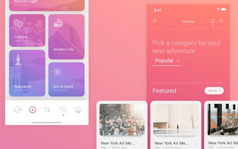 Atlas Ui Kit App