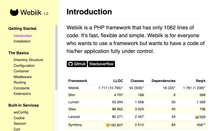 Webiik Php Framework