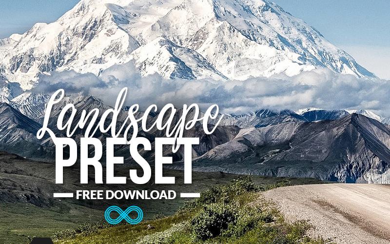 Landscape Photography Lightroom Preset