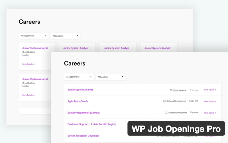 Wp Job Openings