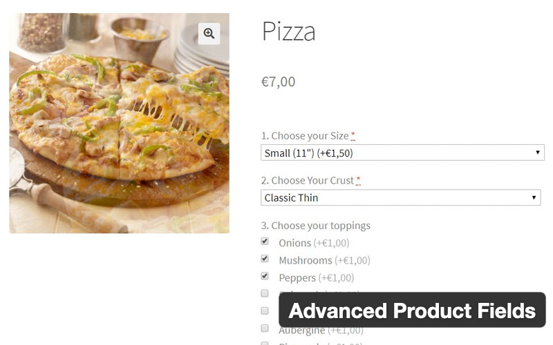 Advanced Product Fields For Woocommerce