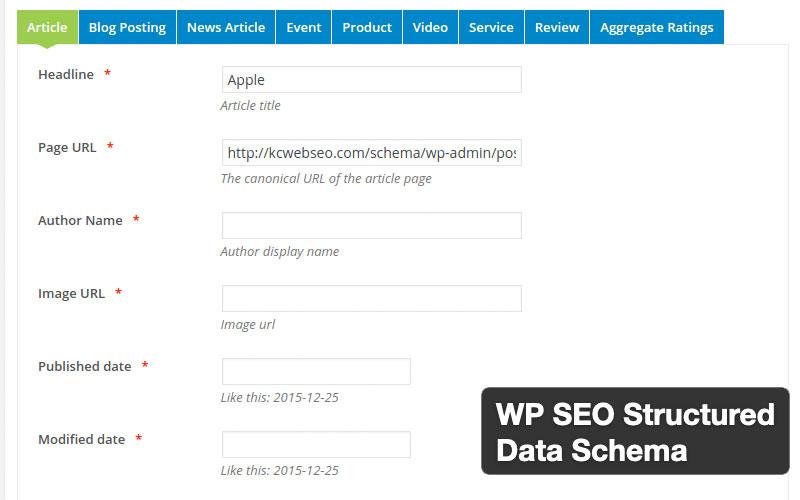 Wp Seo Structured Data Schema