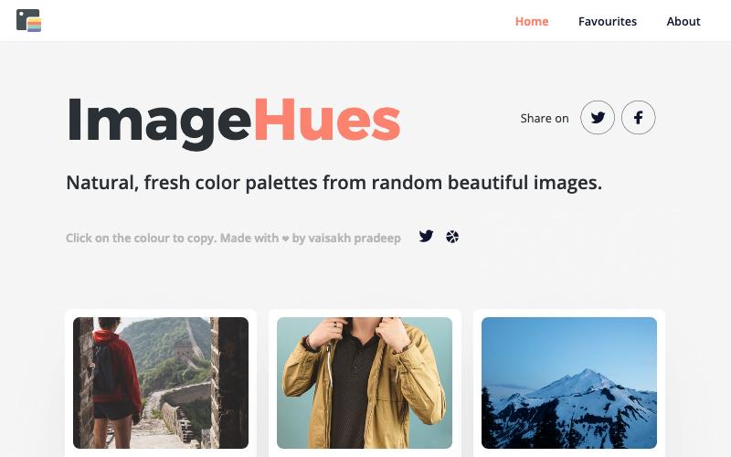 Image Hues