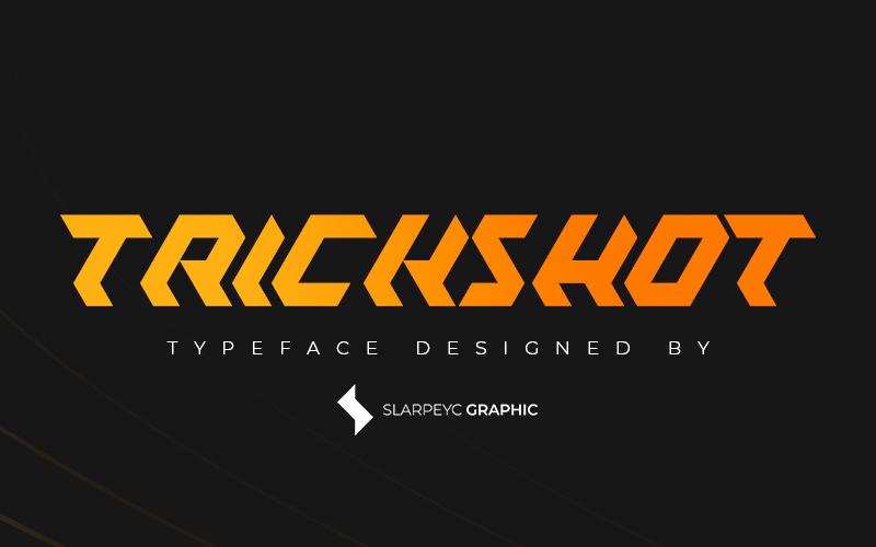 Trickshot Free Font