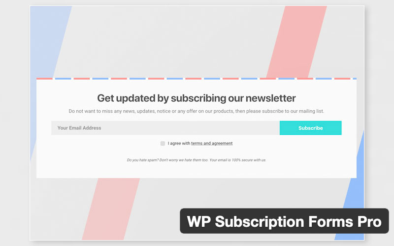 Wp Subscription Forms Pro